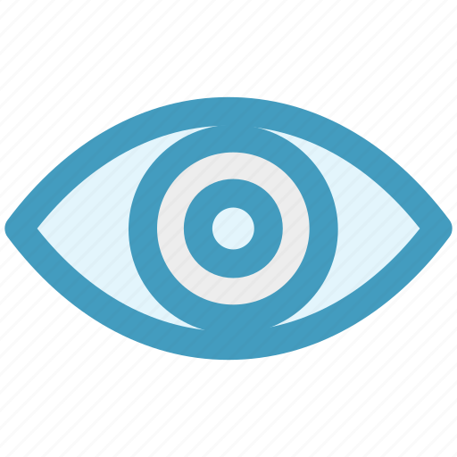 Eye, eyeball, human eye, search, view, visibility, vision icon - Download on Iconfinder