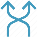 arrows, mix, mixed, road direction, road sign, shuffle icon