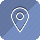 location, map, marker, navigation, pin, place, position icon