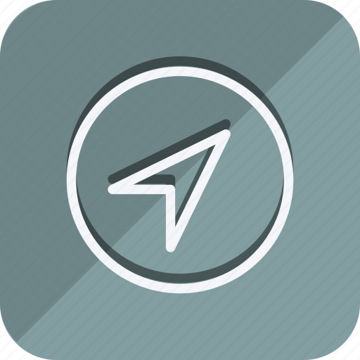 direction, location, map, marker, navigation, pointer, position icon