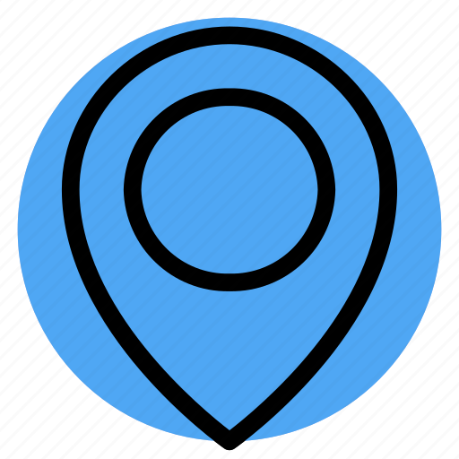 gps, location, map, navigation, pin, postioning icon