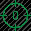 number, zero icon