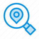 location, map, research, search