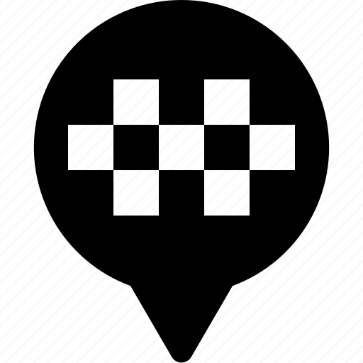 circuit, location, marker, pin, race, racing, yumminky icon