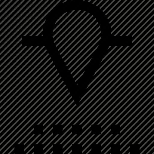 data, gps, pin icon