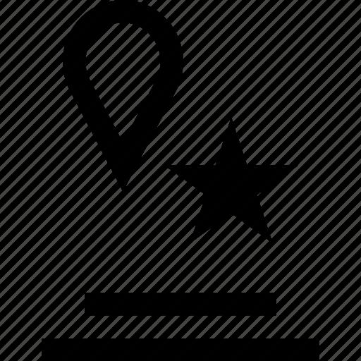 detail, save, star icon