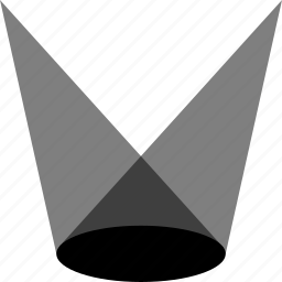 spotlight, theather icon