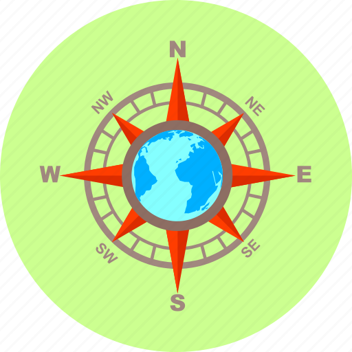cardinal, cardinal points, direction, gps, navigation, pointer, points icon