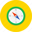 arrow, compass, direction, east west, navigation, north south, pointer icon