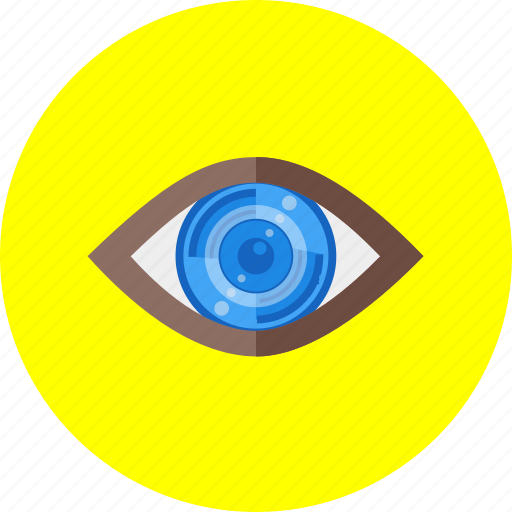 Eye, explore, find, look, search, see, view icon - Download on Iconfinder