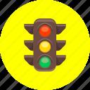 cars, colors, road signs, traffic, traffic jam, traffic light icon