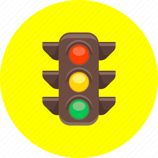 cars, colors, road signs, traffic, traffic jam, traffic light icon