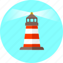 light tower, lighthouse, marine, nautical, navigate, navigation, sea icon