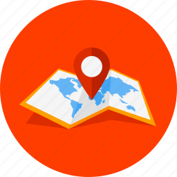 globe, gps, location, map, navigation, pointer, world icon