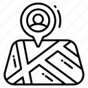 location marker, arrow, avatar, marker, navigation, location