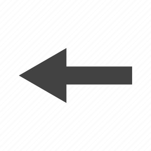 arrow, left, path, road, sign, turn icon