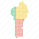 benin, beninese, country, map icon