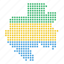country, gabon, gabonese, map icon