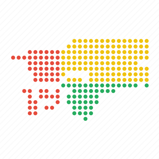 bissau, country, guinea, guinean, map icon