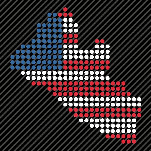 country, liberia, liberian, map icon