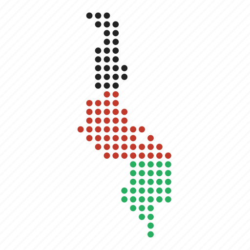 country, malawi, malawian, map icon