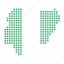 country, map, nigeria, nigerian icon