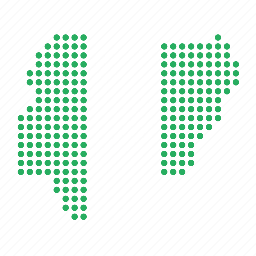country, map, nigeria, nigerian icon