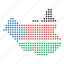 country, map, south, sudan, sudanese icon