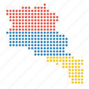 armenia, armenian, country, map