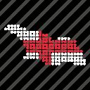 country, georgia, georgian, map