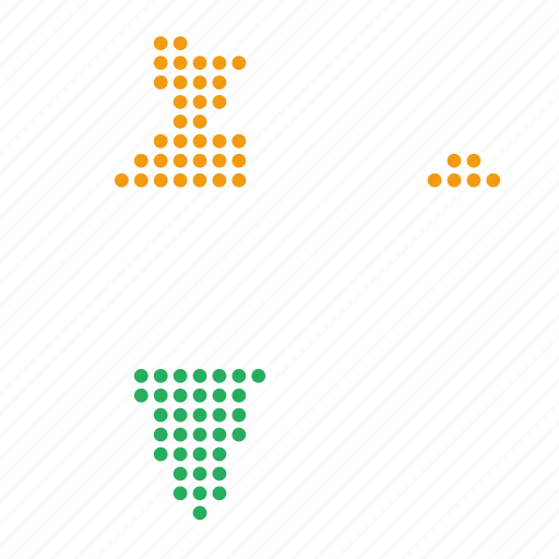 country, india, indian, map icon