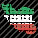 country, iran, iranian, map