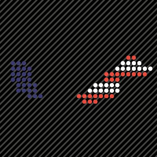 country, malaysia, malaysian, map icon