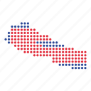 country, map, nepal, nepali