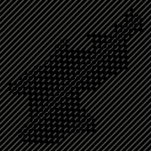 country, korea, korean, map, north icon