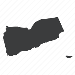 asian, country, location, map, navigation, yemen, yemenese icon