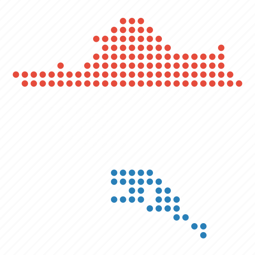 country, croatia, croatian, map icon