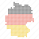 country, german, germany, map icon