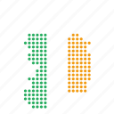 country, ireland, irish, map