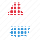 country, luxembourg, map icon