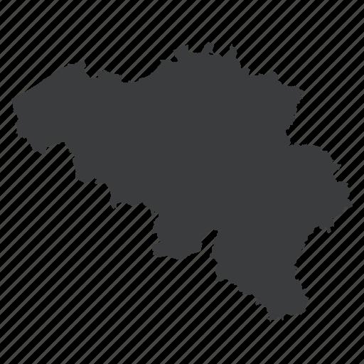 belgian, belgium, country, european, location, map, navigation icon