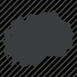 country, european, location, macedonia, macedonian, map, navigation icon