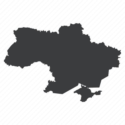 country, gps, location, map, navigation, ukraine, ukrainian icon