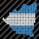 country, map, nicaragua, nicaraguan icon