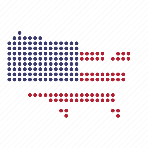 American, country, map, states, united, us, usa icon - Download on Iconfinder