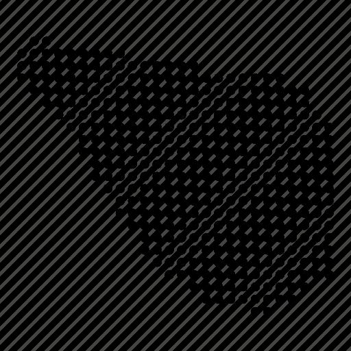 country, map, navassa icon