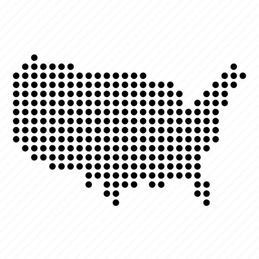 america, american, country, map, states, united, usa icon