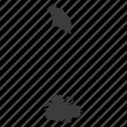 antigua, barbuda, country, gps, map, navigation, north american icon
