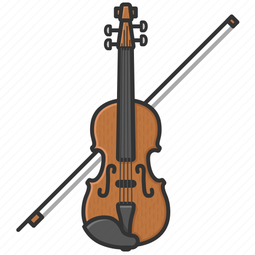 fiddle, music, orchestra, symphony, violin icon