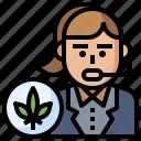 cannabis, consultant, drugs, healthcare, marijuana, medical, women